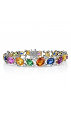 Oscar Heyman Multi-Color Gemstone Bracelet 804483 product image