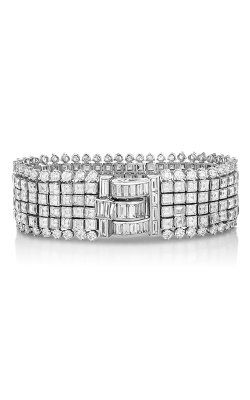 Oscar Heyman Invisibly Set Diamond Bracelet 804443  product image