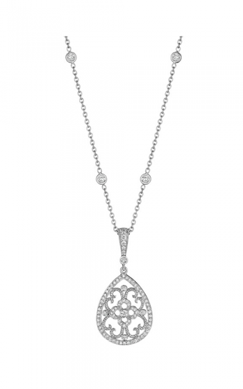 Penny Preville Lace Necklace C4258W product image