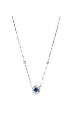 Penny Preville Potite Round Blue Necklace N1443W product image