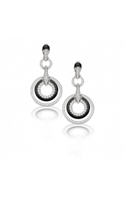 Luna Black Earrings Grande #E115 product image