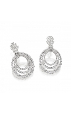 Timeless Diamond Circle Earrings #E257 product image