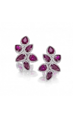 Crown Collection Ruby Earrings #E263 product image
