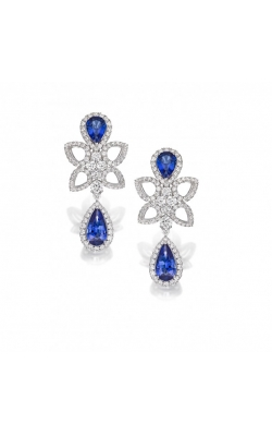 Crown Sapphire Earrings product image