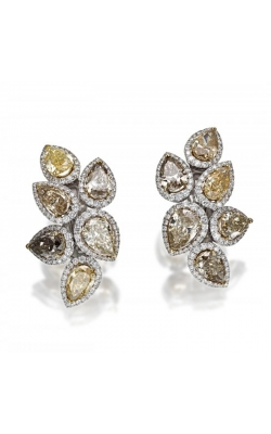 Crown Collection Diamond Earrings product image