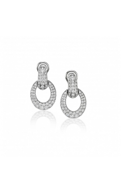 Luna Diamond Earrings #E338 product image