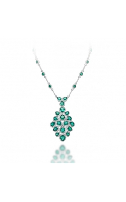Crown Collection Emerald Necklace product image