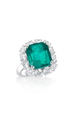 Imperial Cushion Emerald Ring #RC79 product image