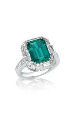 Octagonal Emerald Ring #RD80 product image