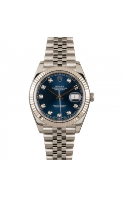 Pre-owned 41mm Rolex Datejust #M126334 Circa 2017 product image