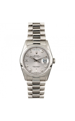 Pre-owned 36mm Platinum Day-Date #18206 Circa 1995 product image