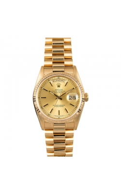 Pre-owned 36mm Rolex Day-Date #18038 Circa 1986 product image