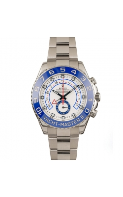 Pre-owned 44mm Rolex Yachtmaster II #16680 Circa 2014 product image