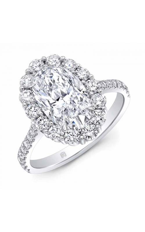 Oval Halo Ring product image