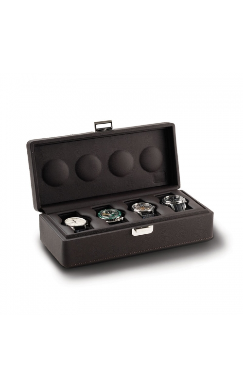 Valigetta 4 Watch Travel Case Chocolate product image