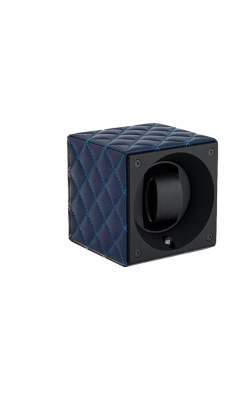 Masterbox Single Dark Blue Toledo Leather Blue Stitches product image