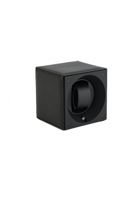 Masterbox Single Black Grained Toledo Leather Black Stitches product image