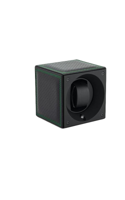 Masterbox Single Black Toledo Leather Dark Green Edge & Stitches product image