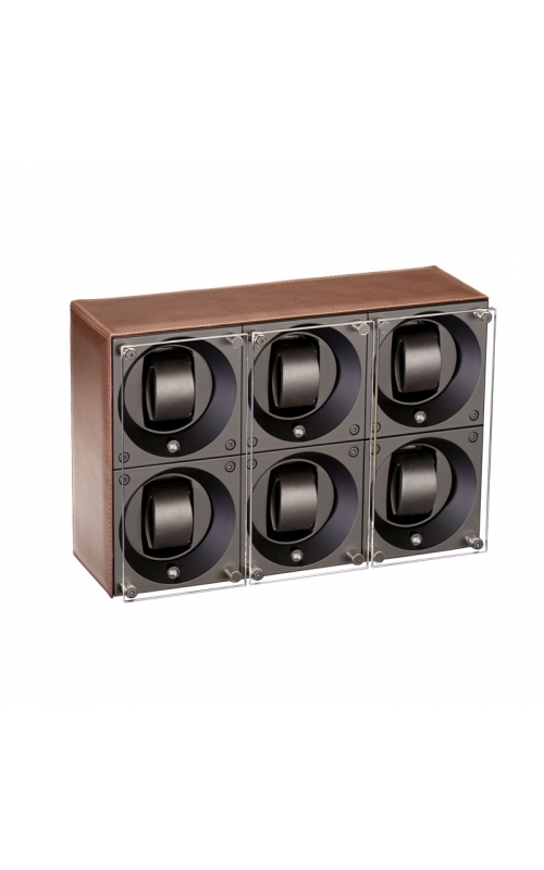 Masterbox 6 Positions Brown Toledo Leather Brown Stitches product image